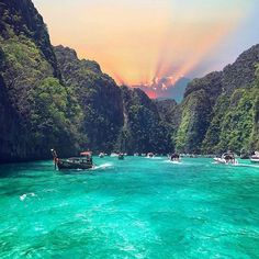Phi Phi Islands Emerald days @pearlluxe #experientialtravel