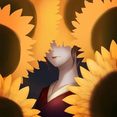 Sunflower by ‎Jaime Li - Speedpaint 30 minutes