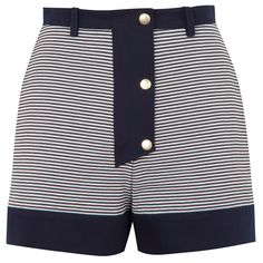 Striped sailor shorts by Kenzo.