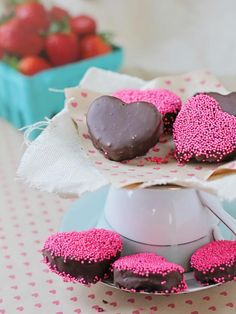 Chocolate-Covered Strawberry Cookie Truffles