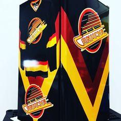 Mancave needs one of these! #nhl #mancave #beer #custom #husbandbirthday Man Cave Fridges, Mini Fridge, Husband Birthday, Nhl, Beer, Root Beer, Cool Mini Fridge, Ale