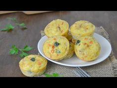 Pastelitos de verduras. Una receta deliciosa con paso a paso y video Guacamole, Food And Drink, Veggies, Chips, Cooking, Breakfast, Ethnic Recipes, Buffets, Cup Cakes