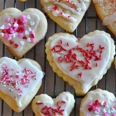 "The Best Rolled Sugar Cookies Allrecipes.com -- Making these for my daughter's Mad Tea Party (with ""Eat Me"" written on the cookies)."