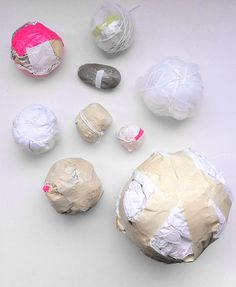 """Write down """"fragile"""" feelings and wrap them up in newspaper, bubblewrap, and packing tape. These could serve as structure for a sculpture or doll. Arts And Crafts, Paper Crafts, Art Prompts, Art Therapy Activities, Expressive Art, Art Object, Artsy, Creative, Pink"""