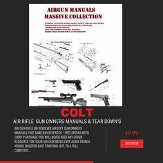 AIR RIFLE GUN pellet gun owner's manual's rifle crossman bsa smk diana colt weihrauch weebly scot air arms pistol air soft + free targets