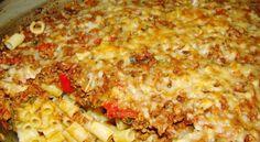 Φουρνιστό μακαρονάκι με κιμά (4 μονάδες) Cookbook Recipes, Cooking Recipes, Lasagna, Macaroni And Cheese, Ethnic Recipes, Food, Mac Cheese, Meal, Cooker Recipes