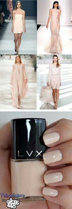 Nude nail polish | color inspiration