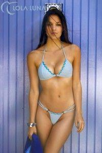 Lola Luna Bikini Tetiatora błękitna