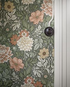 Bringing to life the luscious beauty of late summer days, our Dahlia Garden wallpaper depicts an intricate landscape of flowers and foliage. Papier Peint Art Nouveau, Garden Inspiration, Interior Inspiration, Inspirational Wallpapers, Diy Garden Projects, Garden Care, Summer Flowers, Blooming Flowers, Of Wallpaper