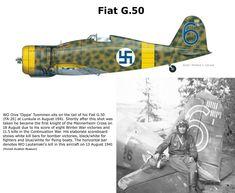 Fiat G.50 Ww2 Aircraft, Fighter Aircraft, Military Aircraft, Fighter Jets, Finland Air, Finnish Air Force, Ww2 Pictures, Aircraft Design, Aviation Art