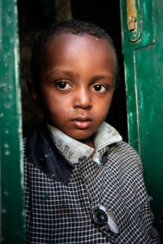 Young boy in Addis Ababa, Ethiopia