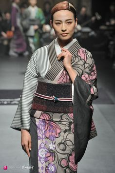 140319-7796 - Autumn/Winter 2014 Collection of Japanese fashion brand JOTARO SAITO on March 19, 2014, in Tokyo.