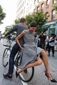 Giovanna Battaglia - New York Street Fashion