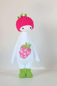 crochet pattern by lalylala Crochet Doll Clothes, Knitted Dolls, Crochet Dolls, Kawaii Crochet, Cute Crochet, Knit Crochet, Crochet Patterns Amigurumi, Amigurumi Doll, Crochet Fairy