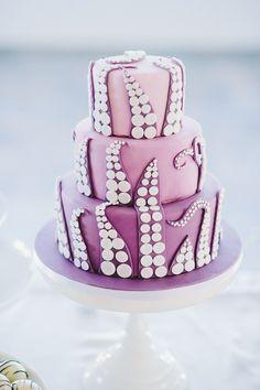 Tentacle cake on @offbeatbride