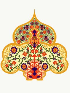 Textile Pattern Design, Textile Patterns, Pattern Art, Print Patterns, Textiles, Border Embroidery Designs, Border Design, Colorful Drawings, Damask