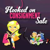 Hooked On Consignment - A Kids Consignment Sale in Madison July 28 - Aug 3 in TN #consignmentmommies #consignmentsale #moms