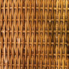 Wicker basket effect