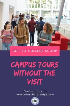 Remote college visits are extremely valuable when students cannot physically get to campus. Find out how College Scoops is making a difference for families! College List, College Success, Financial Aid For College, College Hacks, College Fun, College Campus, College Planning, Student Life, High School Students
