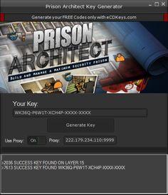 Prison Architect CD Key Generator Full Game Download 2016