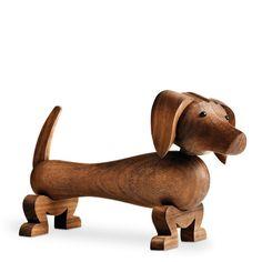 Kay Bojesen Hund Holzfigur