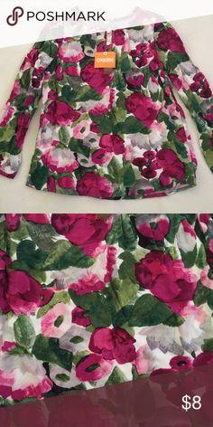 Gymboree long sleeve Vibrant long sleeve for little girl, size: 8 Gymboree Shirts & Tops Blouses