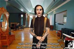 I don't like Marilyn Manson too much but oh this is classic