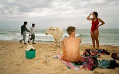 """""""Goa, India"""" from """"Small World"""" © Martin Parr / Magnum Photos Martin Parr, Magnum Opus, Documentary Photographers, Great Photographers, Magnum Photos, Beach Photography, Street Photography, Color Photography, Francis Wolff"""
