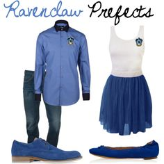 Ravenclaw Prefects, created by nearlysamantha on Polyvore