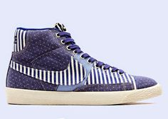 "EffortlesslyFly.com - Kicks x Clothes x Photos x FLY Sh*t: Nike Women's Blazer Mid ""Denim Patchwork""*~"