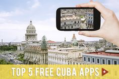 Although wifi is limited in Cuba, and mobile phone and data access is not available to Americans, a few free apps are still worth downloading to prepare for your travels.