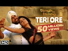 Watch the official video for the romantic song 'Teri Ore' from the Bollywood Blockbuster film 'Singh Is Kinng' in the legendary voice of Rahat Fateh Ali Khan. Katrina Kaif, Singh Is Kinng, Bollywood Music Videos, Rahat Fateh Ali Khan, Francisco Lachowski, Blockbuster Film, Indian Music, Akshay Kumar, Boys Over Flowers