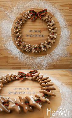 Mar&Vi Creative Studio - Italia: Biscotti di zenzero: ricetta e decorazioni facili