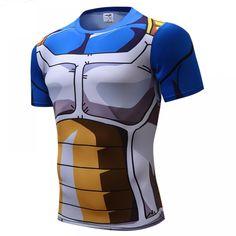 1247977cef5fab Dragon Ball Z Burter Ginyu Force Uniform Compression Tank Top ...