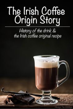 Where did Irish coffee come from? Who invented it? What's the Irish coffee original recipe? The answer to all the questions and more on Always the Holidays. Good Whiskey, Irish Whiskey, Coffee Origin, National Days, Baileys Irish Cream, Coffee Cream, Irish Coffee, Recipe Please, Pina Colada