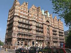 Hotel Russell in Russell square. Had a ballroom which is the exact replica of the ballroom on the titanic.