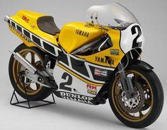 La Yamaha OW31 de Kenny Roberts sera exposée au Salon Moto Légende