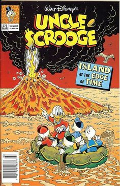 Cover for Walt Disney's Uncle Scrooge (Disney, 1990 series) [Direct] Disney Duck, Disney S, Disney Love, Disney Magic, Old Comic Books, Comic Book Covers, Old Comics, Funny Comics, Don Rosa