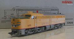 37610 Maerklin - Union Pacific Diesel