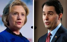 Poll: Scott Walker Closing in on Clinton | Friends Of Liberty