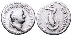 AR Denarius. Roman Imperial, Titus, Rome. January-June 80 AD. 17mm, 3,20g, 6h. RIC 112. Good F. Price realized (2.7.2016): 54 EUR.
