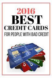 2016 Best Credit Cards for People with Bad Credit - Have a bad credit? Don't worry because you can now get a credit card on your name and start building your credit score. Visit www. Miles Credit Card, Credit Card Hacks, Paying Off Credit Cards, Rewards Credit Cards, Best Credit Cards, Credit Score, Build Credit, Credit Card Pictures, Picture Credit