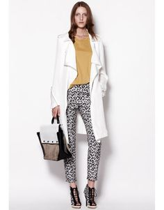 Phillip Lim resort collection...leopard jeggings, totally awesome