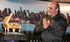 Steinway White House Piano in Miniature Unveiled - With more than 12,000 parts, it took master artist Paul Gentile 16 years to handcraft a fully functional 1:7 scale replica of the historic 1903 Steinway White House grand piano. This is the first non-company instrument ever to earn the designation of Steinway & Sons piano.