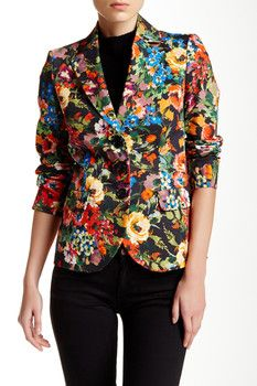 LOVE Moschino Notch Collar Jacket