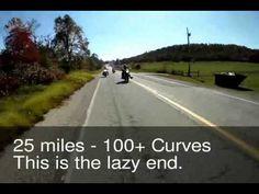 Push Mountain Road an Arkansas Motorcycle Trip