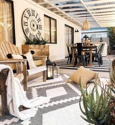 Trendy Area Rugs | Quality Area Rugs Online | Boutique Rugs Deck Furniture, Outdoor Furniture Sets, Outdoor Rugs, Outdoor Spaces, Outdoor Living, Porch Decorating, Modern Rugs, Farmhouse Decor, Farmhouse Style