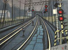 Scene of Train by Jun-ichiro SEKINO, Noboru YAMATAKA and Rei MORIMURA