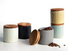 陶器の質感を楽しむキャニスター。【SALIU】削ぎ キャニスター【LOLO】ロロ キャニスター 保存容器 保存容器 陶器 日本製