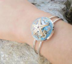 Beach Bracelet, Beach Wedding Jewelry, Beach Jewelry, Sea Bracelet, Nautical…